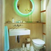 日式风格简约小卫生间装修效果图赏析