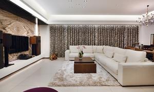 139平米新古典主义风格三室两厅室内装修效果图