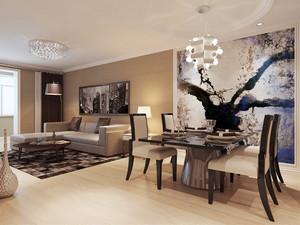 80平米新中式风格室内装修效果图赏析
