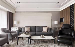 140平米后现代风格大户型室内装修效果图案例