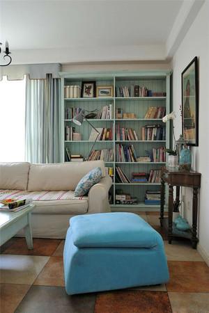 100平米清新地中海风格室内装修效果图案例
