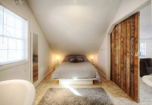 宜家风格别墅室内阁楼卧室装修效果图