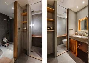 120平米现代工业风格室内装修效果图