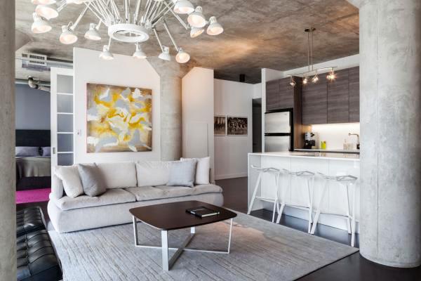 90平米后现代风格两室两厅室内装修效果图