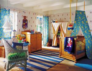 美式田园风格大户型室内儿童房装修效果图赏析