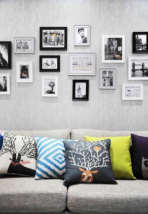 70平米现代简约风格室内装修效果图赏析