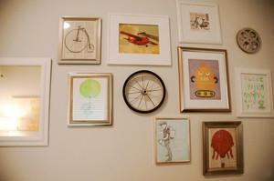 现代风格精美室内照片墙装修效果图大全