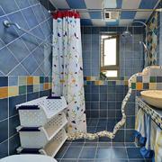 地中海风格卫生间瓷砖设计装修效果图赏析