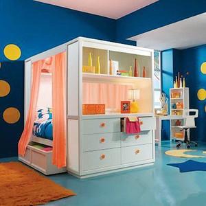现代风格精致创意儿童房设计装修效果图赏析