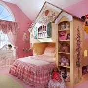 欧式风格粉色梦幻公主房儿童房装修效果图赏析