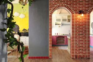120平米美式田园风格室内装修效果图案例