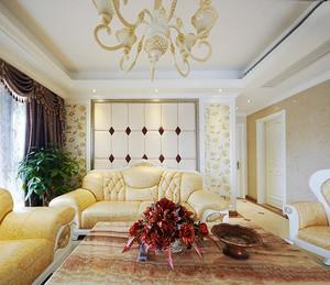 奢华精致欧式风格大户型室内装修效果图赏析