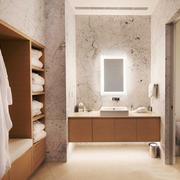 日式风格大户型室内卫生间装修效果图赏析