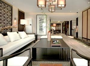 146平米中式风格古典精致大户型装修效果图
