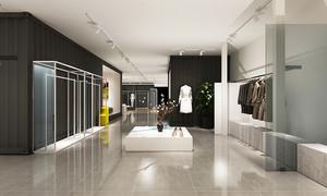140平米现代风格服装店设计装修效果图赏析