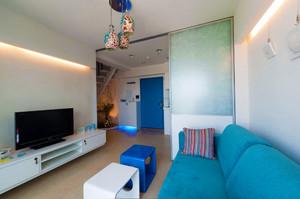 119平米地中海风格小复式楼室内装修效果图赏析