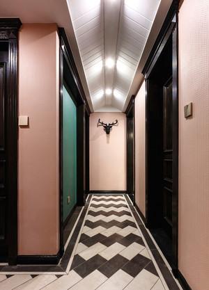 现代美式风格室内过道吊顶设计装修效果图