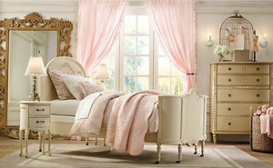 欧式风格温馨舒适儿童房装修样板效果图大全