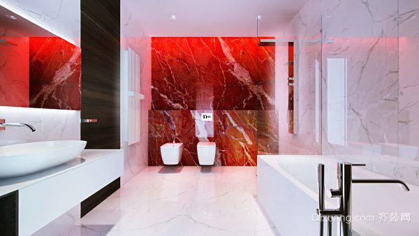 现代风格豪华卫生间设计装修效果图大全