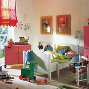 14平米现代简约创意儿童房设计装修效果图