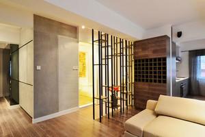 64平米现代风格精致一居室小户型室内装修效果图