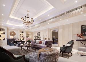 新古典主义风格奢华精致别墅室内装修效果图