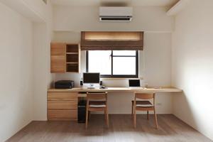 8平米宜家风格简约书房设计装修效果图