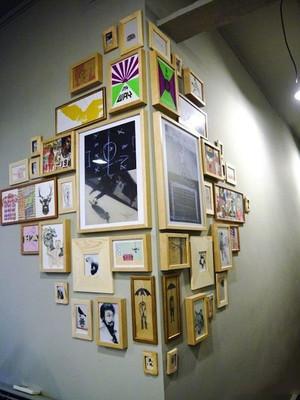 现代风格室内精美照片墙装修效果图赏析