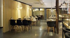 200平米简约风格餐厅设计装修效果图