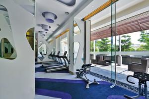 120平米现代简约风格健身房设计装修效果图