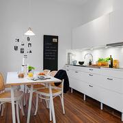 北欧风格小户型厨房餐厅设计装修效果图