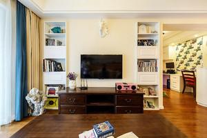 100平米美式混搭风格室内装修效果图案例