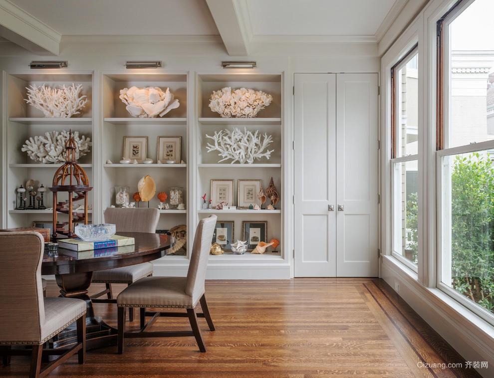 新中式风格室内精美酒柜设计装修效果图赏析