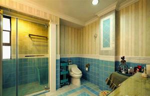 120平米欧式风格室内装修效果图赏析