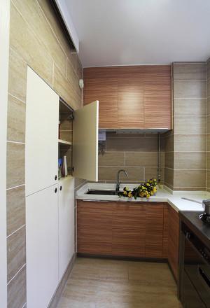 96平米现代风格自然小复式楼装修效果图赏析