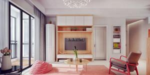 61平米宜家风格温馨舒适一居室小户型装修效果图