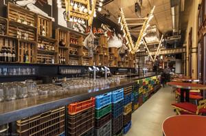 210平米乡村风格主题酒吧设计装修效果图