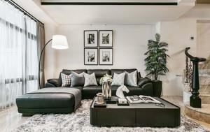 300平米现代风格精致别墅装修效果图案例