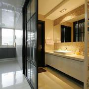 现代风格三居室室内厨房隔断设计装修效果图
