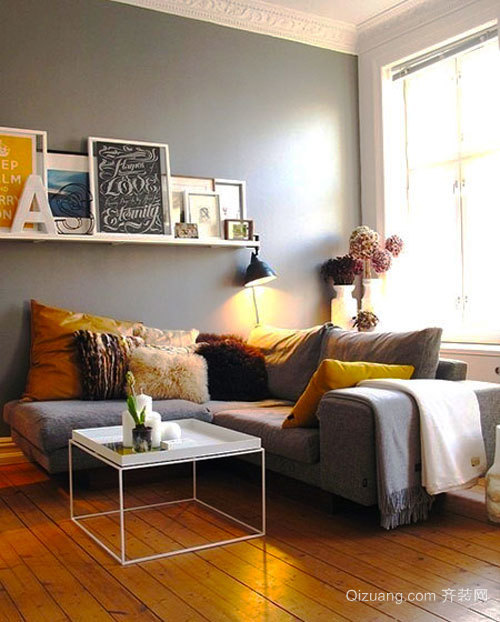 简约风格小户型客厅茶几装修效果图大全
