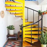 现代风格时尚创意旋转楼梯装修效果图