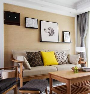 80平米日式风格自然随性室内装修效果图案例