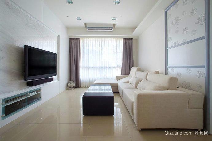 74平米現代風格兩室一廳室內設計裝修效果圖