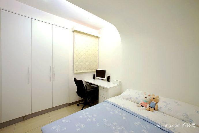 74平米现代风格两室一厅室内设计装修效果图