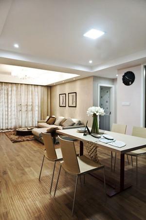 82平米现代简约美式风格两室两厅室内装修效果图