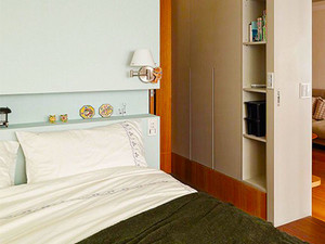 宜家风格文艺小户型室内装修效果图案例
