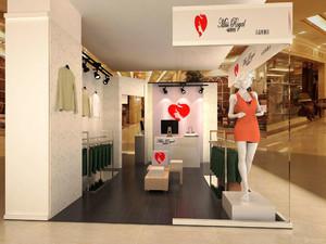 70平米简约风格服装店设计装修效果图