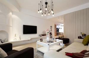 80平米北欧风格简约温馨室内装修效果图赏析