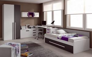 12平米现代简约风格儿童房装修效果图实例