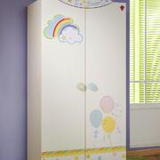 现代简约风格儿童衣柜设计装修效果图